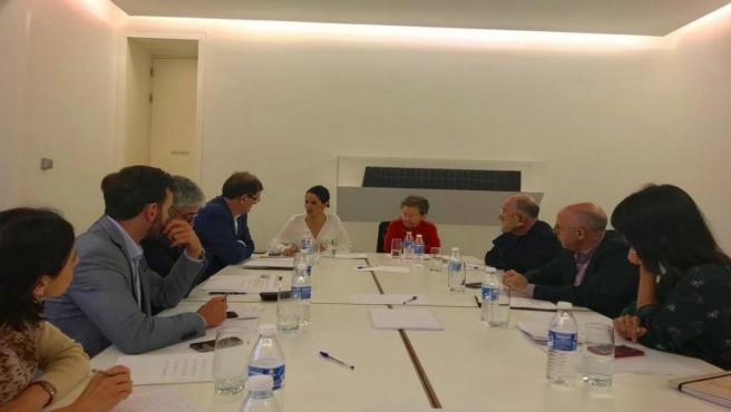 Reunión del patronato de la Fundación Helga de Alvear