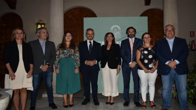 Presentación de los presupuestos de la Junta de 2020 en Jaén.