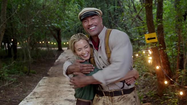 Dwayne Johnson y Emily Blunt se embarcan en el primer tráiler de 'Jungle Cruise'