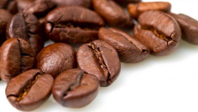 Imagen de granos de café.