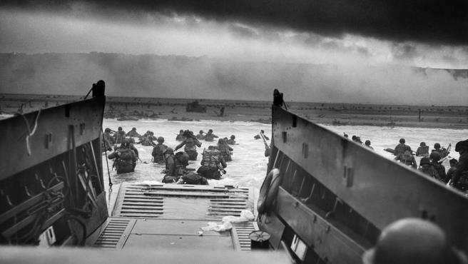 Imagen del Desembarco de Normandía.