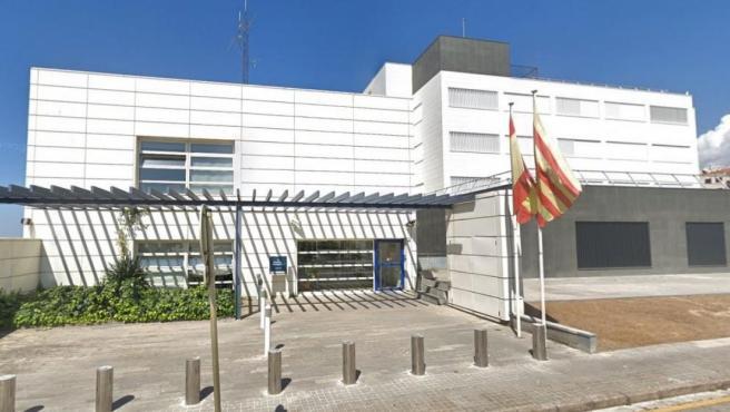 Imagen de la Comisaría de los Mossos d'Esquadra en Blanes, Girona.