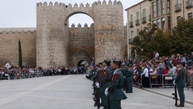 Fiesta de la Guardia Civil en Ávila.