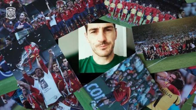 Iker Casillas fue uno de los iconos del fútbol que felicitaron a Sergio Ramos.