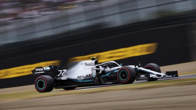 Valtteri Bottas, durante el GP de Japón.