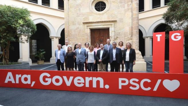 Meritxell Batet presenta la candidatura del PSC por Tarragona a las elecciones generales, encabezada por Joan Ruiz