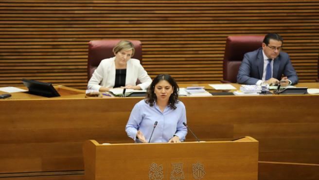 La portavoz de Sanidad de Ciudadanos (Cs) en Les Corts valencianas, Yaneth Giraldo