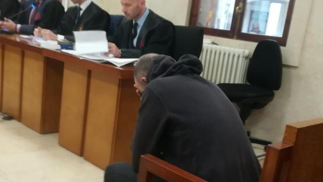 El acusado de quemar viva a su expareja en Alcúdia en 2016, en la Audiencia