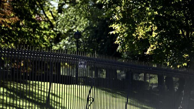 Verja del Parque del Retiro de Madrid.