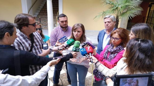 Laura Álvarez, concejala del Ayuntamiento de Jerez