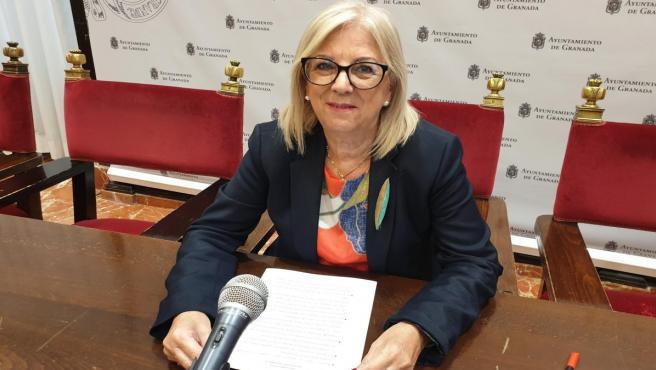 La concejal del PSOE María de Leyva