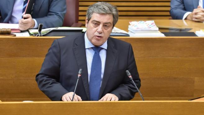 El portavoz adjunto de Vox en Les Corts, José María Llanos