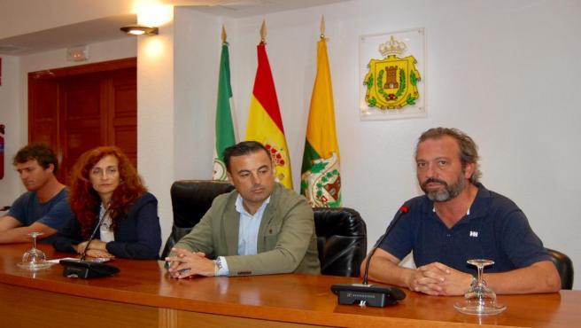 Rueda de prensa del Ayuntamiento de Los Barrios