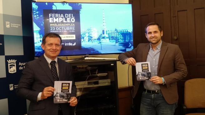 Luis Verde informa de la Feria del Empleo