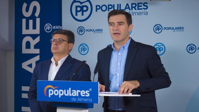Juan José Matarí y Miguel Ángel Castellón (PP)
