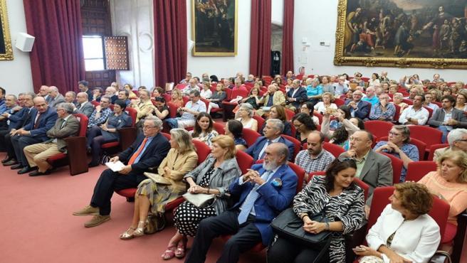 Apertura del curso académico 2019/2020 del Aula de la Experiencia de la Universidad de Sevilla.