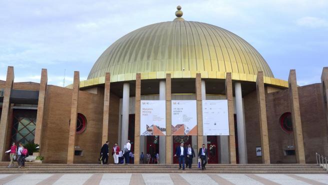 El Palacio de Exposiciones y Congresos de Sevilla (Fibes).
