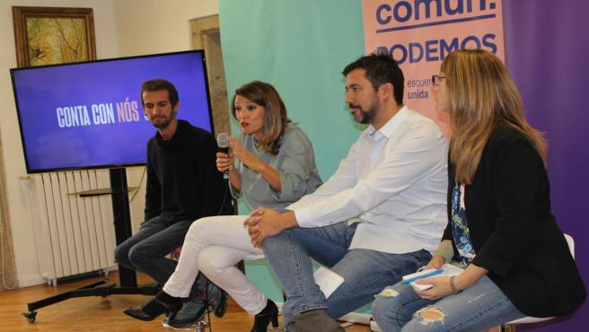 Cabezas de lista de la candidatura En Común Unidas Podemos para las elecciones del 10 de noviembre