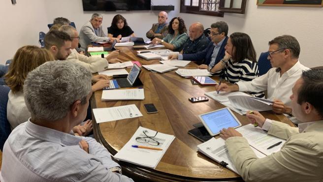 Comisión de Hacienda del Ayuntamiento de Toledo