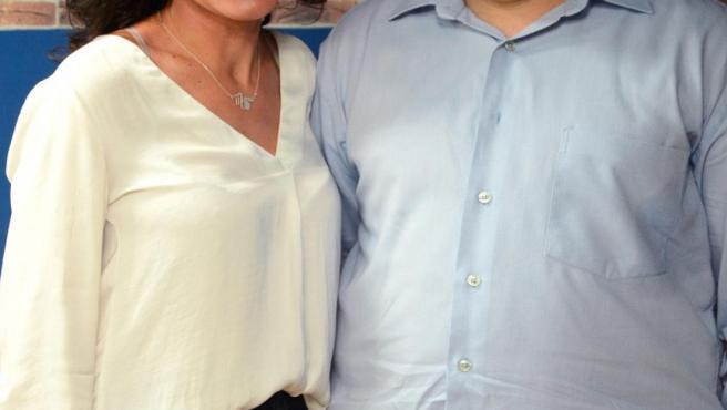 Inmaculada González y Miguel Ángel Delgado, emprendedores creadores del dispositivo Dpeage.