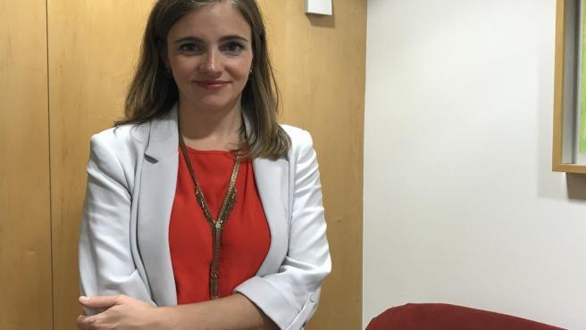 La cofundadora y CEO de Libelium, Alicia Asín.