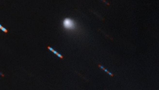 Imagen del cometa interestelar Borisov.