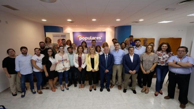 Encuentro de afiliados del PP en Roquetas de Mar (Almería)