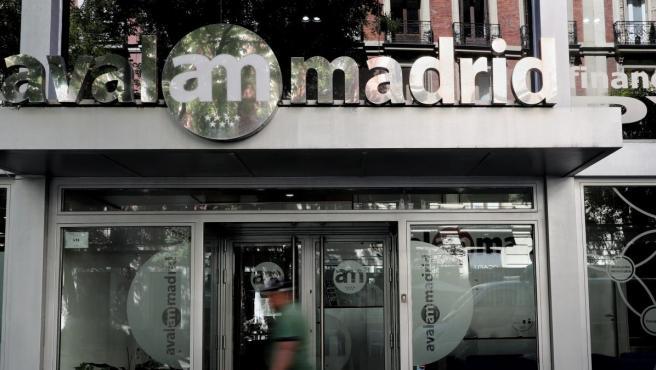 Sede de la empresa Avalmadrid situada en la madrileña calle de Jorge Juan.