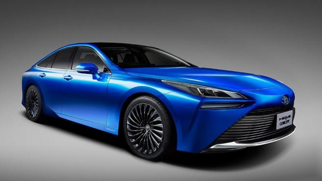 Mirai es el primer vehículo de Toyota que emplea el hidrógeno como fuente de energía.