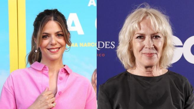 Las actrices Manuela Velasco y Susi Sánchez.