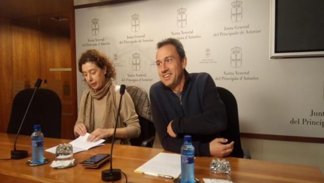 Cristina Pontón y Ovidio Zapico