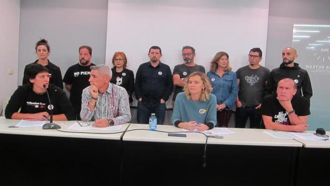 Sindicatos de la concertada de Euskadi