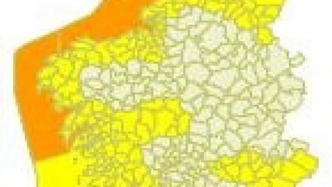 Avisos meteorológicos para el miércoles 16 de octubre en Galicia.