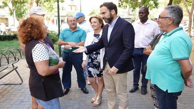 Daniel Pérez y Begoña Medina en rueda de prensa