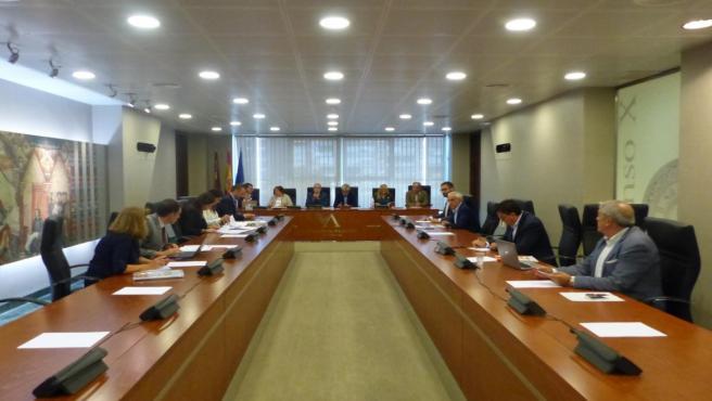 La Junta de Portavoces de la Asamblea Regional de Murcia