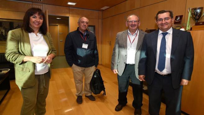 Reunión entre la Diputación de Granada y el Banco de Alimentos