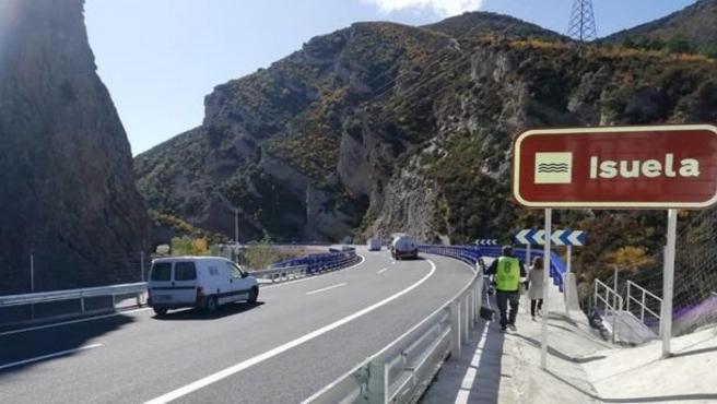 El tramo de la A-23, entre Congosto del Isuela y Arguis, ha entrado ya en servicio
