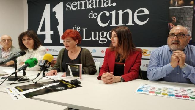 Presentación de la 41 Semana de Cine de Lugo.