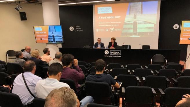 Primera Jornada d'Innovació Oberta, centrada a buscar solucions als reptes que es plantegen al sector audiovisual.