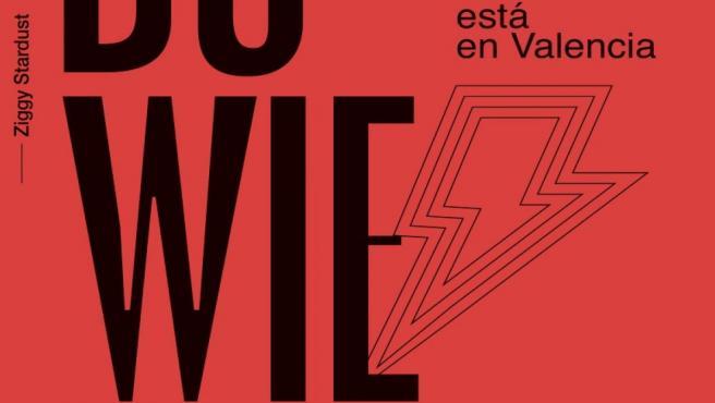 Cartel del Bowie Tribute Spain de València