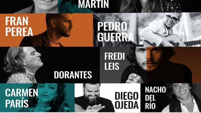 Cartel '¡En Marcha! Música x el Síndrome de Down y otras discapacidades intelectuales' en Zaragoza