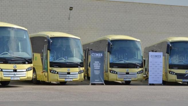 Autobuses nuevos paara el Consorcio de Trnasportes de la Bahía de Cádiz
