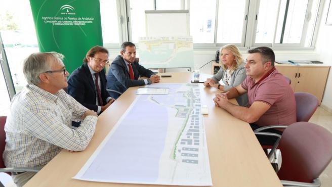 Reunión entre la alcaldesa de Marbella y la APPA sobre mejora en La Bajadilla