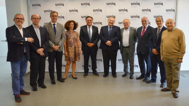 Reunión del Consejo Asesor de UNIR con el nombramiento de Arrieta y Beltrán