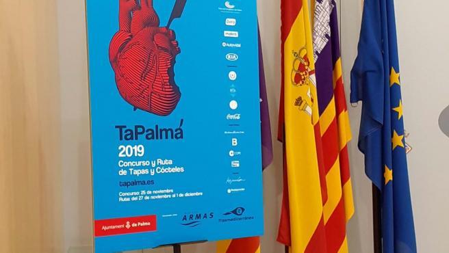 Cartel de la jornada gastronómica 'TaPalma'