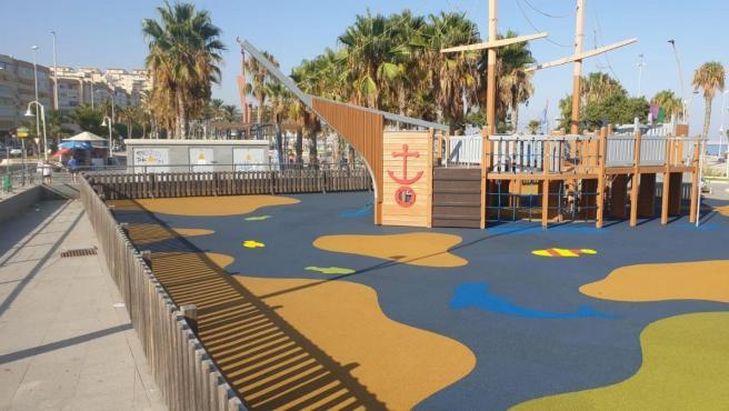Parque infantil en Málaga