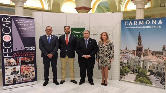 Presentación de la II Feria Cofrade de Carmona