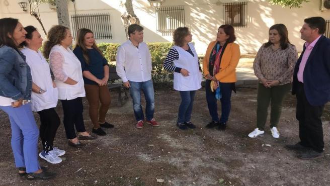 Acto del PSOE con mujeres del ámbito rural