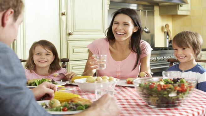 Dieta sana en una familia actual