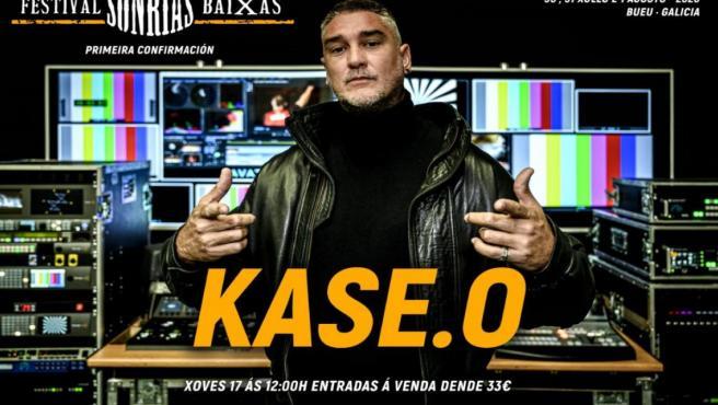 El rapero Kase O, primera confirmación del festival Son Rías Baixas 2020
